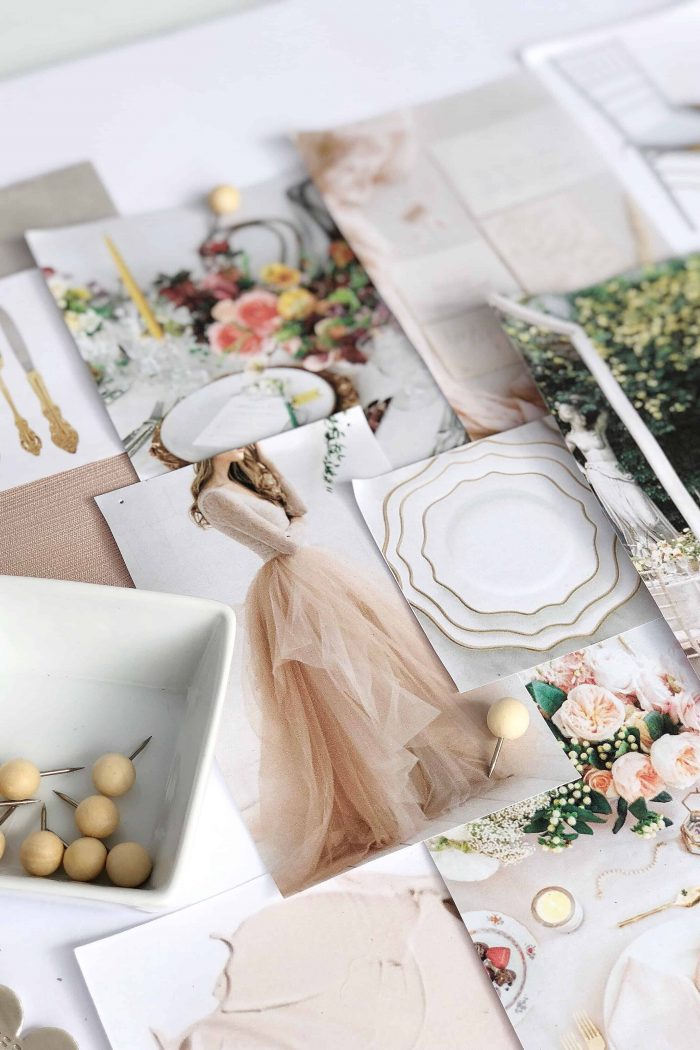 Step by Step Guide: How to Create a Wedding Mood Board