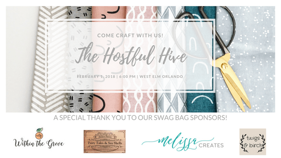 The Hostful Hive DIY Hostess Workshops