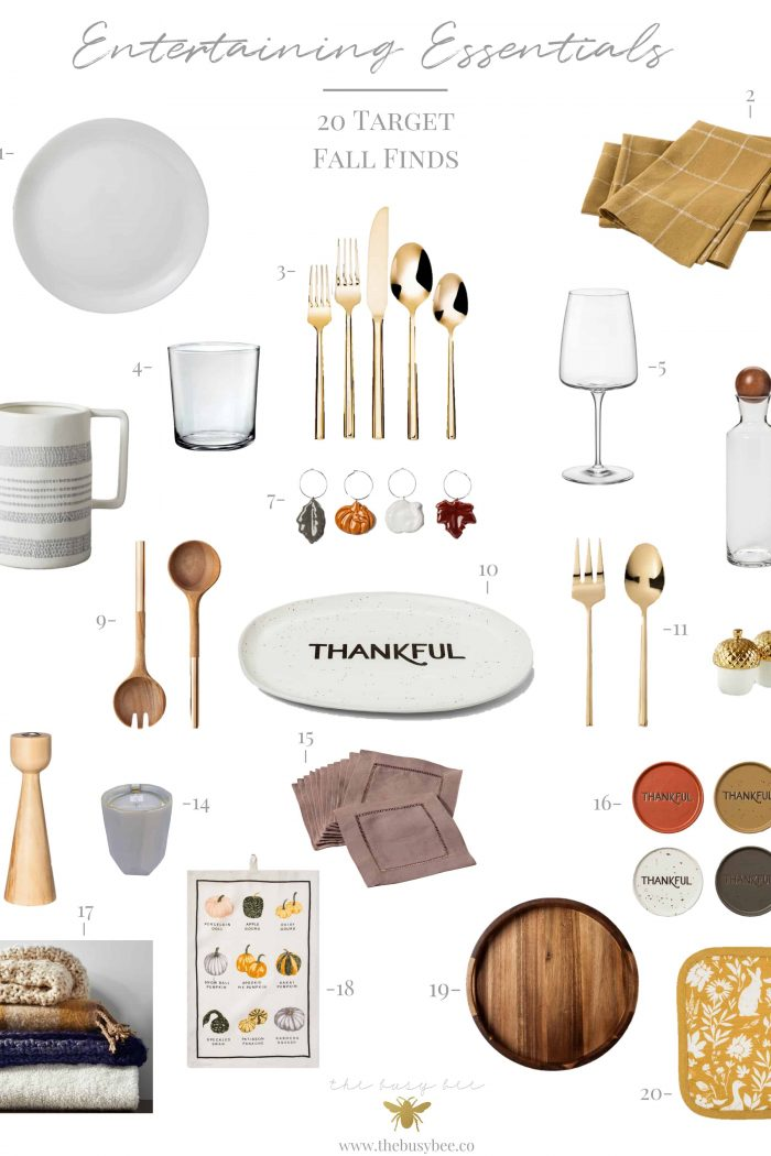 Fall Entertaining Essentials – 20 Target Fall Finds