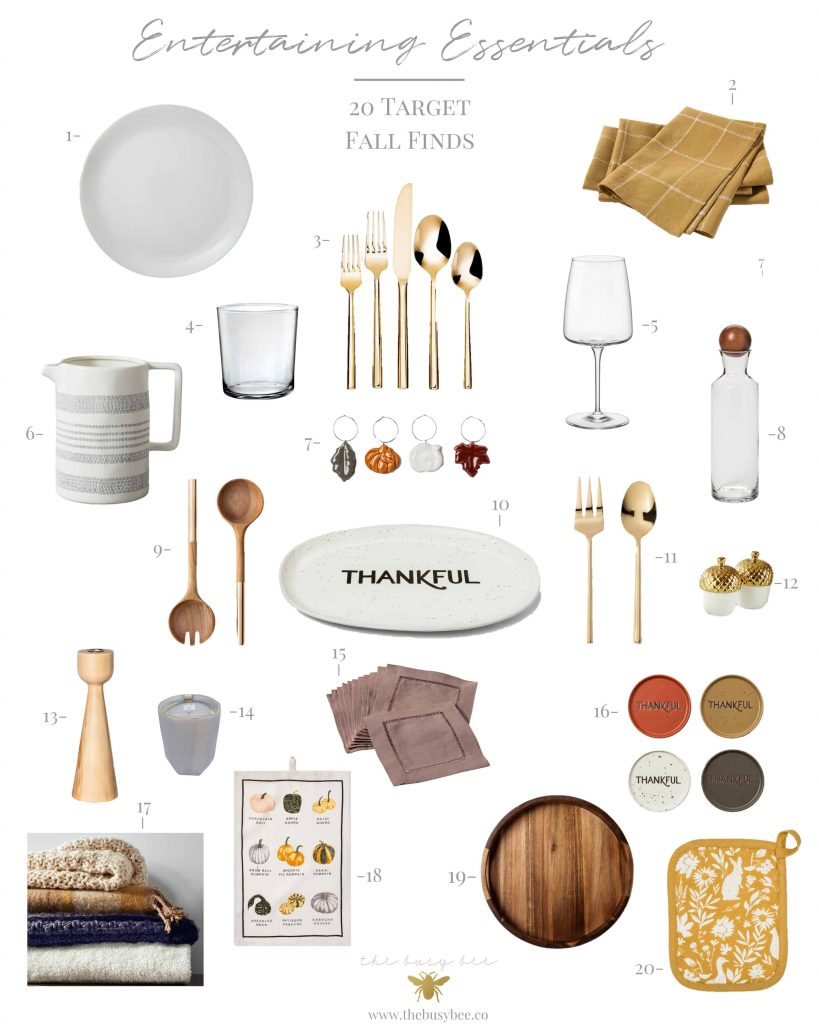 entertaining must haves from target for fall