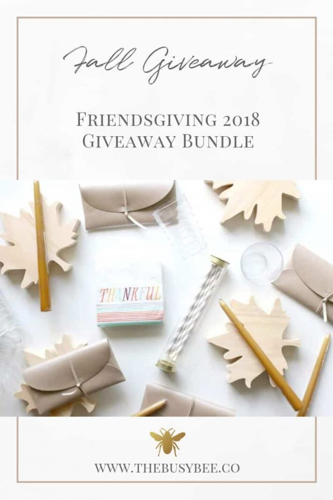 fall giveaway wood leaf cutting boards gold taper candles thankful napkins white and grey paper straws and clear plastic cups