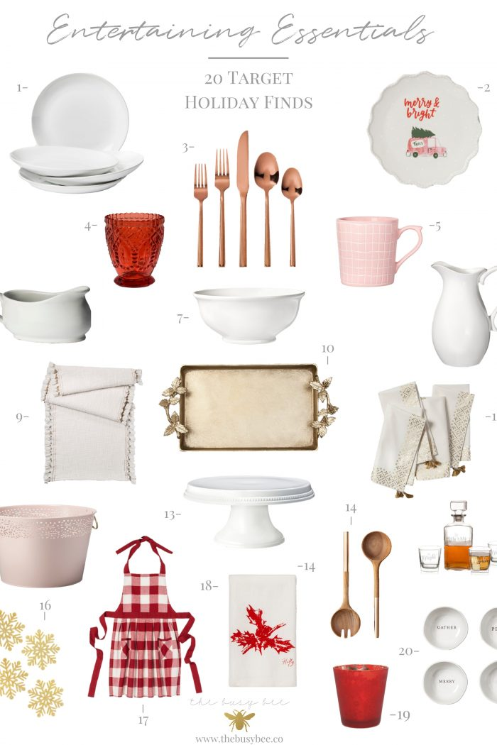 Holiday Entertaining Essentials – 20 Target Holiday Finds