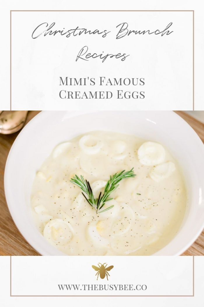 Mimi's Famous Christmas Morning Creamed Eggs