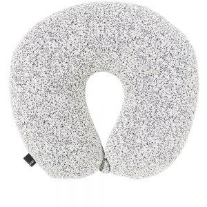 black and white travel neck pillow