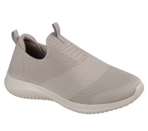 skechers ultra flex first take taupe