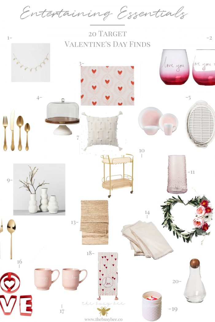 Valentine's Day Entertaining Essentials – 20 Target Finds