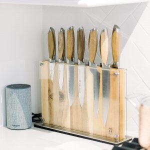 wooden knife set from bloomingdales