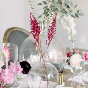 valentine's day flower centerpieces