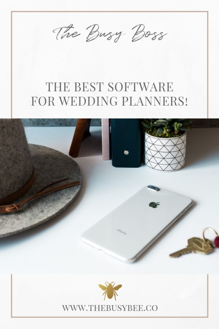 The Best Software for Wedding Planners