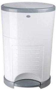 Diaper Dekor DAkor Mini Hands-Free Diaper Pail with Refill