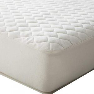TL Care® Organic Cotton Waterproof Quilted Fitted Crib Mattress Cover - Natural