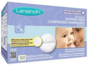 Lansinoh 100-Count Disposable Nursing Pads