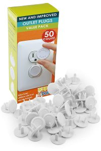 Outlet Covers Baby Proofing 50-Pack By Wappa Baby
