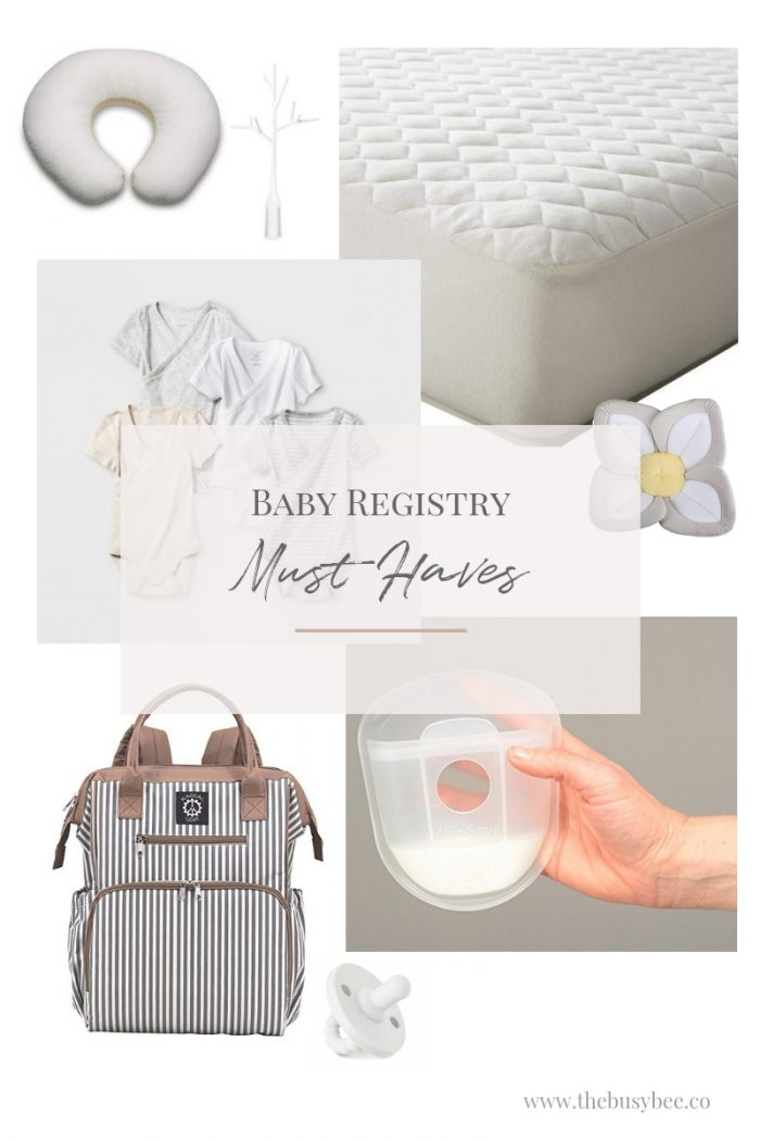 The Busy Bee's Baby Registry Must Haves