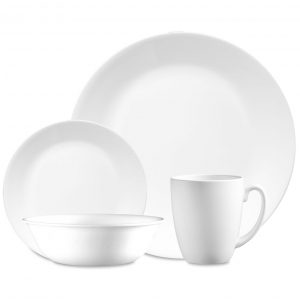 Corelle Winter Frost White Dinnerware - The Busy Bee