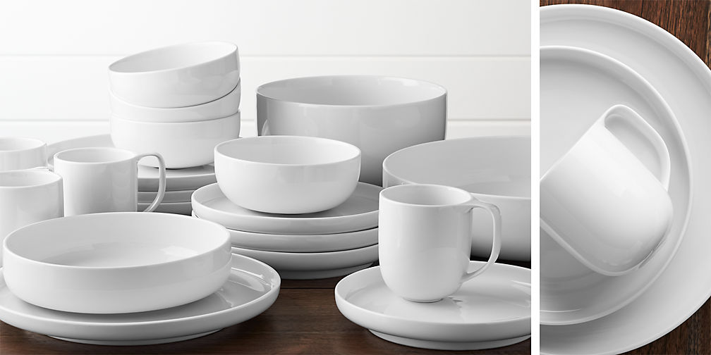 Crate and Barrel Toben Dinnerware - The Busy Bee