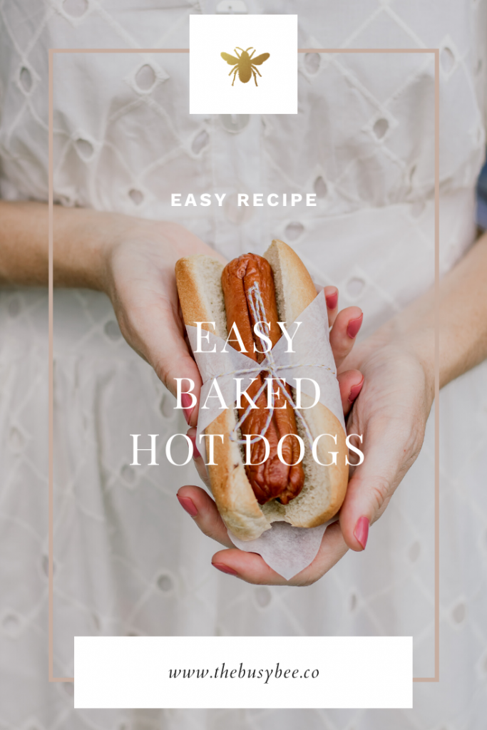 easy baked hot dogs