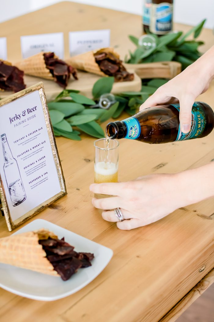Father's Day Party Idea: Jerky and Beer Pairing Party
