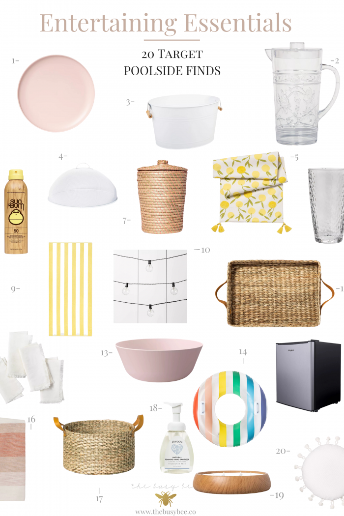 Poolside Entertaining Essentials – 20 Target Finds