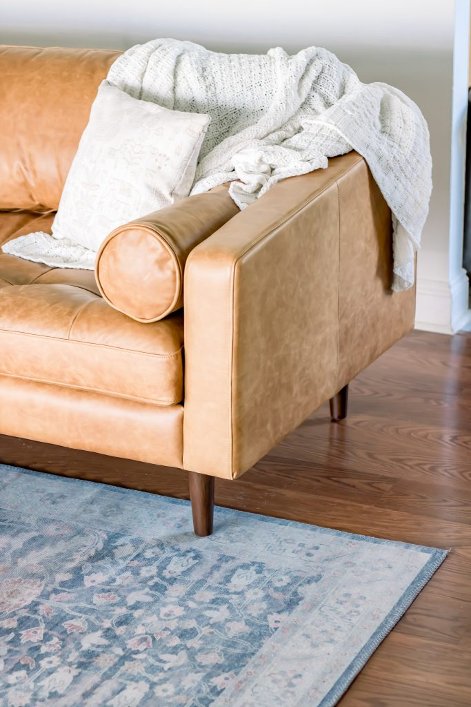 living room refresh, poly and bark couch, ikea besta, modern living room