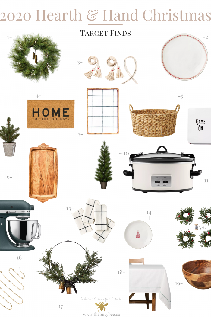 2020 Hearth and Hand Christmas Finds at Target