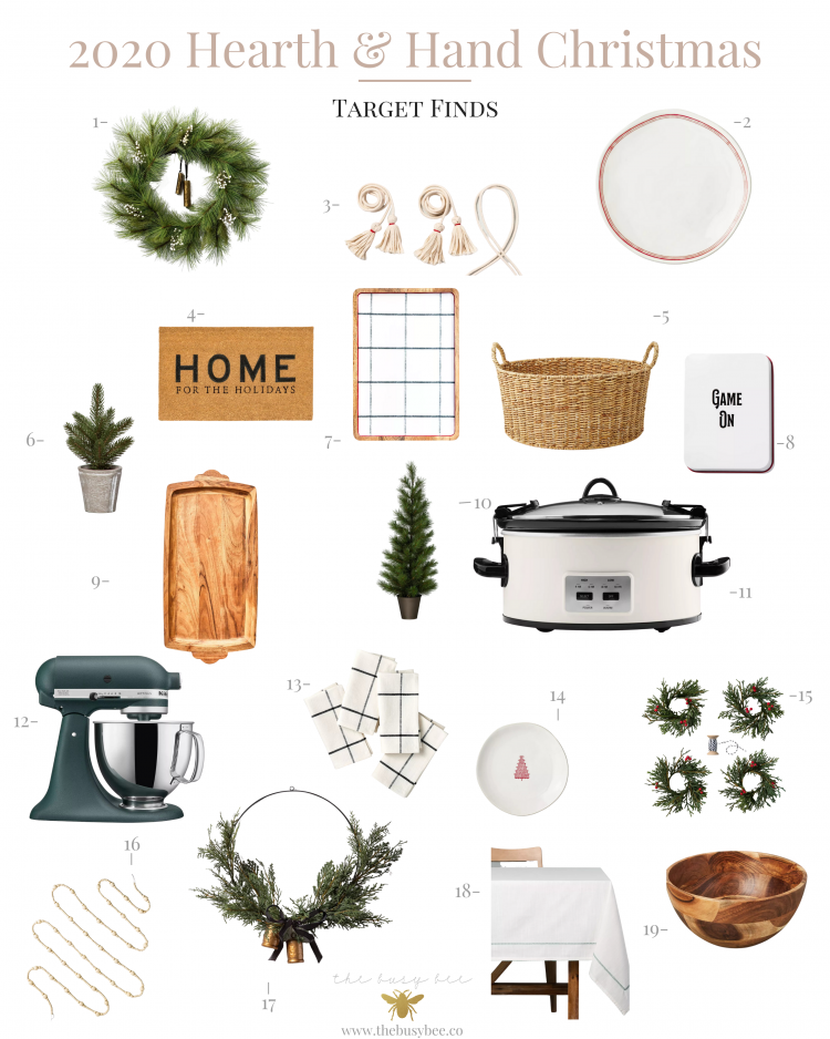 2020 Hearth and Hand Christmas Finds