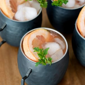 Blood Orange Moscow Mule