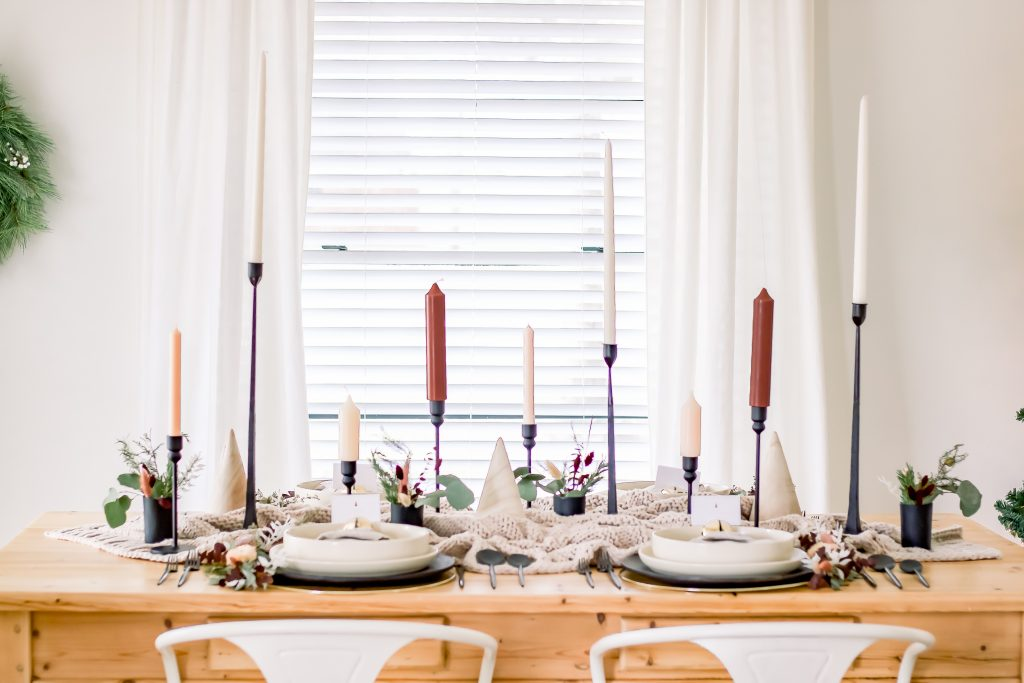 Sophisticated and Approachable Christmas Tablescape