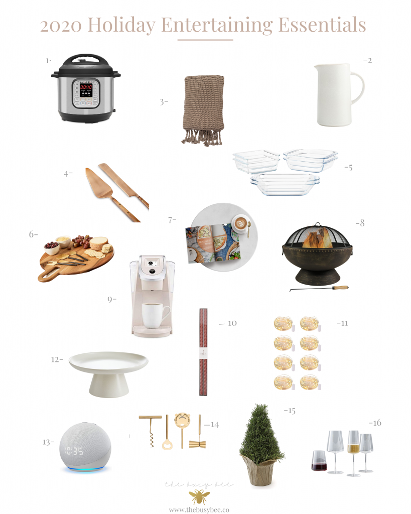 2020 Holiday Entertaining Essentials