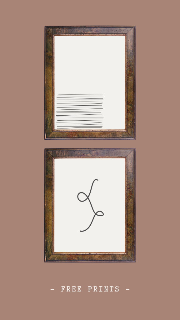 free abstract printables