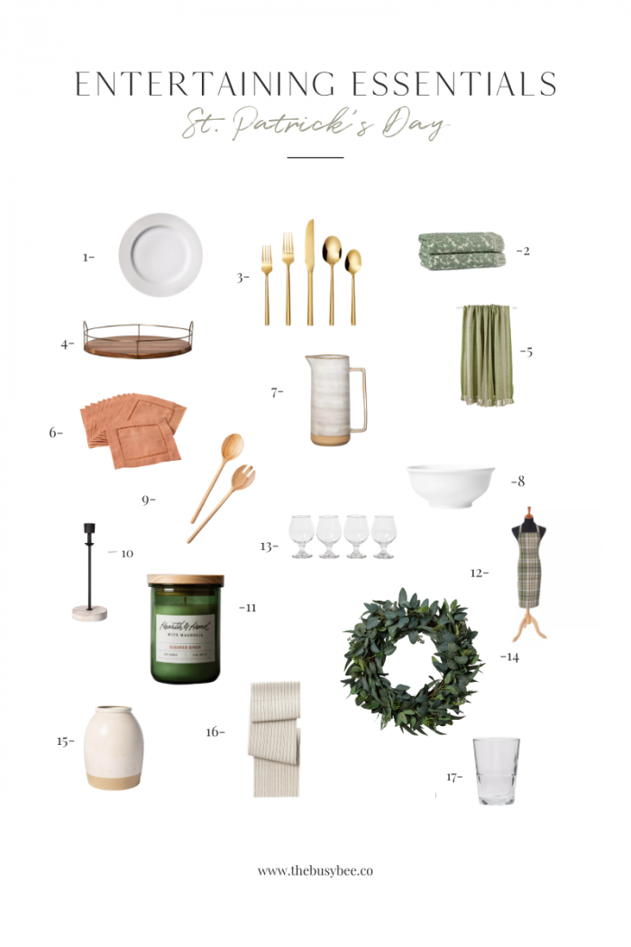 St. Patrick's Day Entertaining Essentials – 17 Target Finds