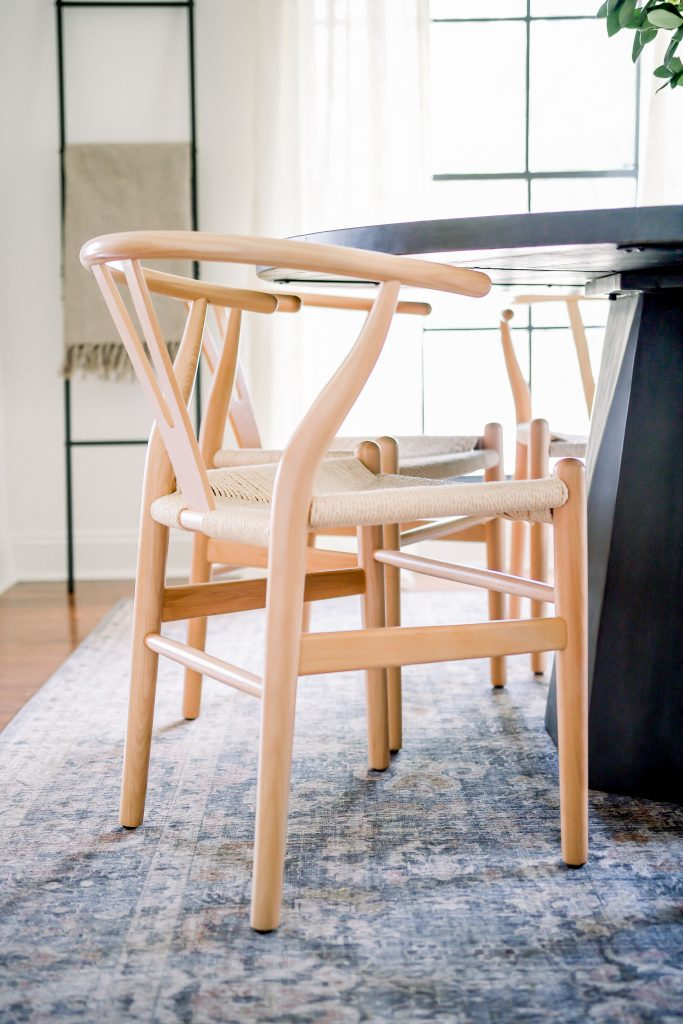 Poly and Bark Natural Weave Chairs