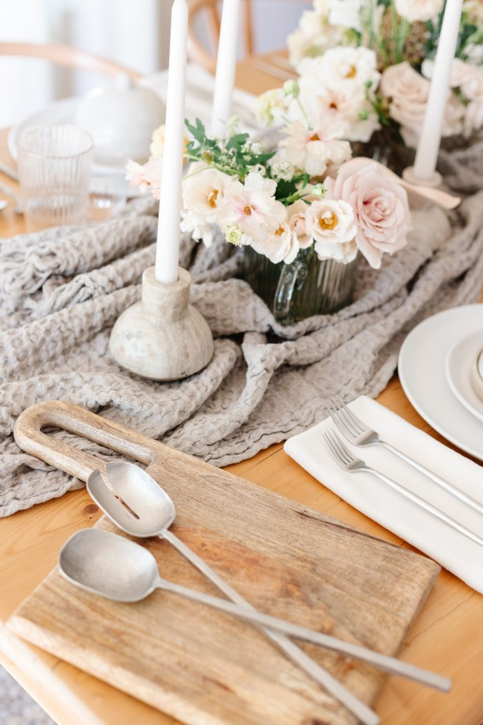 Welcome Intentional Hosting with Our Spring Tablescape