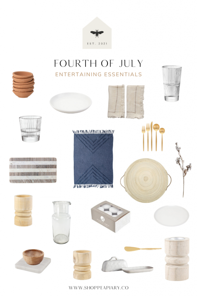 Fourth of July entertaining essentials